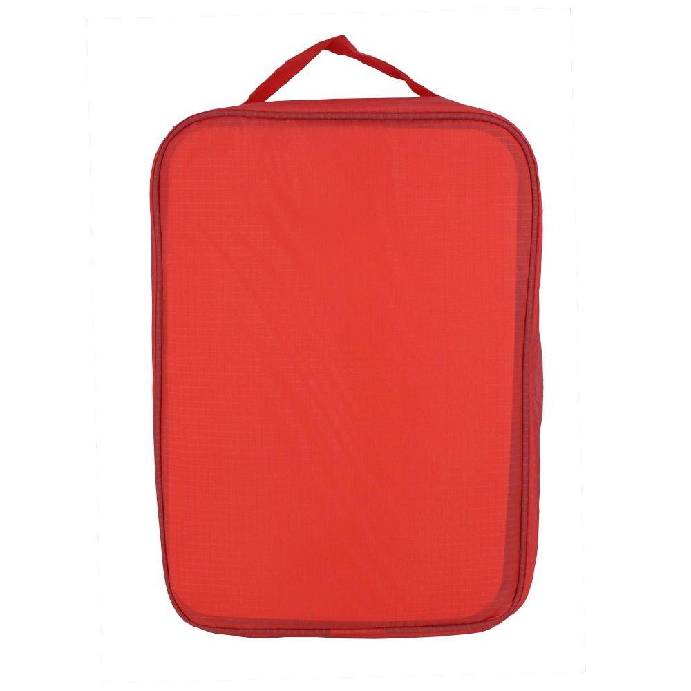 Necessaire Portátil para Viagem 03 Divisórias - Coral  - Shop Ud