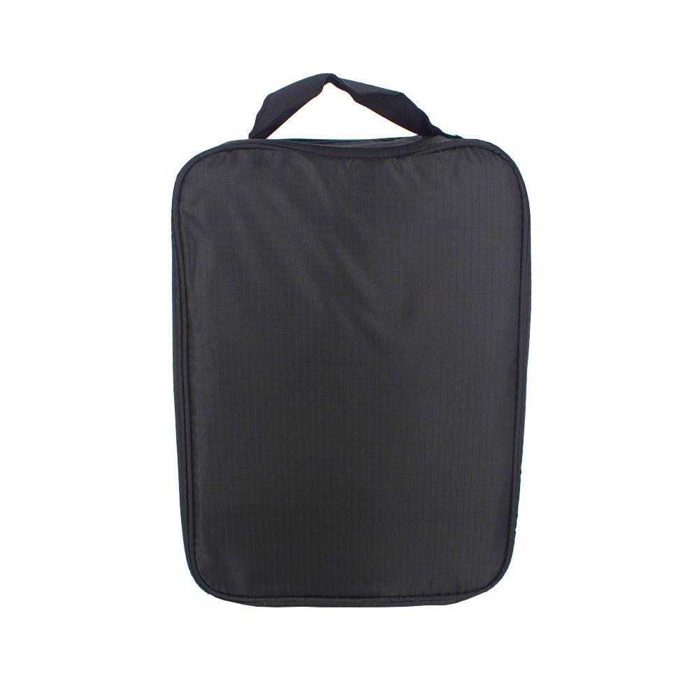 Necessaire Portátil para Viagem 03 Divisórias - Preto  - Shop Ud