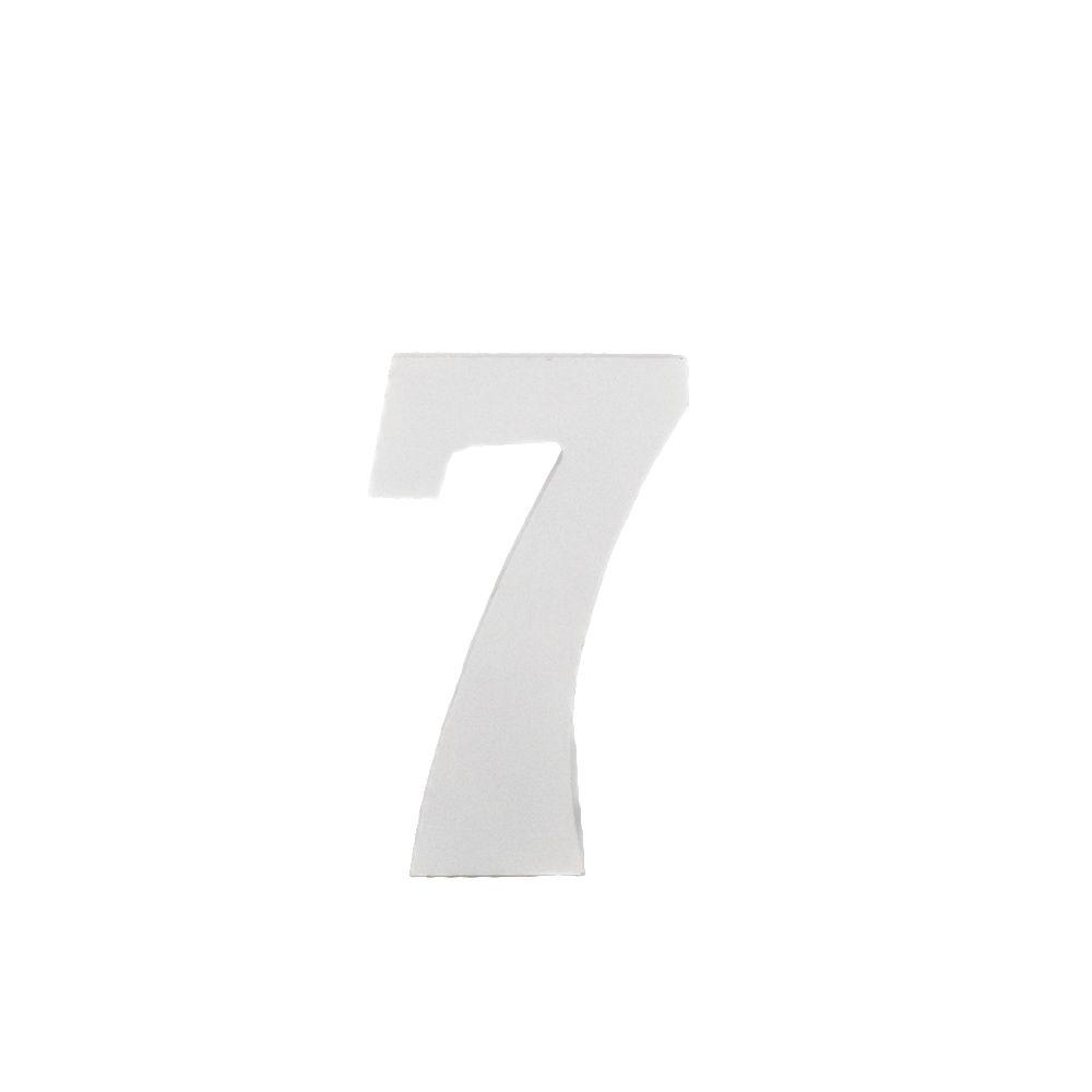 Número Decorativo em MDF – Número 7 (Branca)