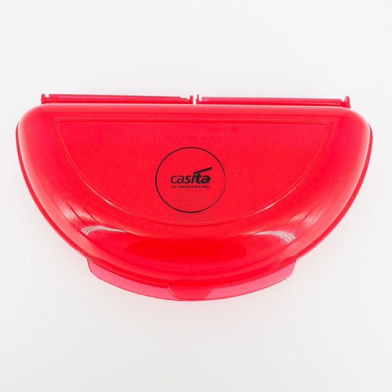 Omeleteira Para Microondas Vermelha
