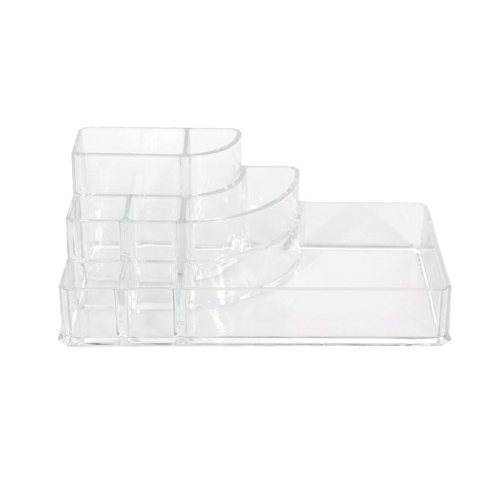 Organizador Acrílico Maquiagens - 08 nichos  (17x9,5x6,7cm)  - Shop Ud