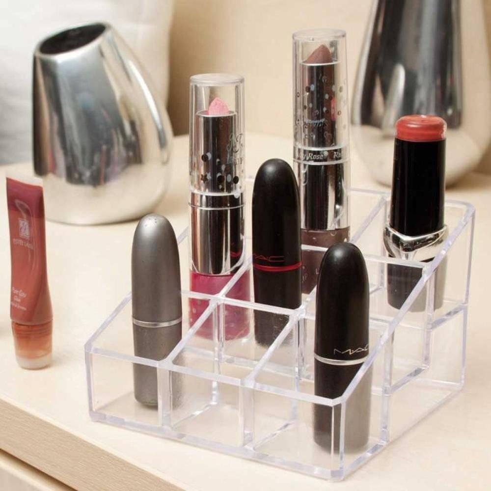 Organizador De Maquiagem Em Acrílico com 9 nichos  - Shop Ud