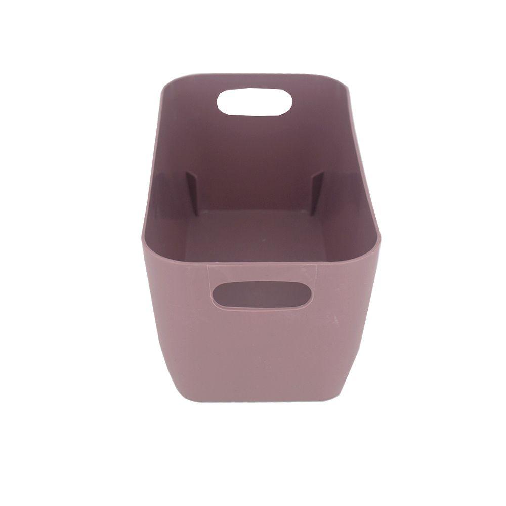 Organizador de Plástico Multiuso 20cm x 10,5cm x 9cm - Marsala  - Shop Ud