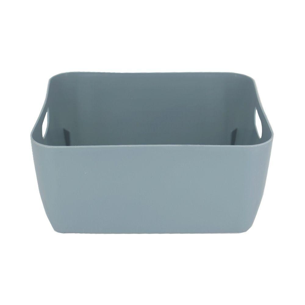 Organizador de Plástico Multiuso - 20cm x 15,5cm x 9cm - Azul  - Shop Ud