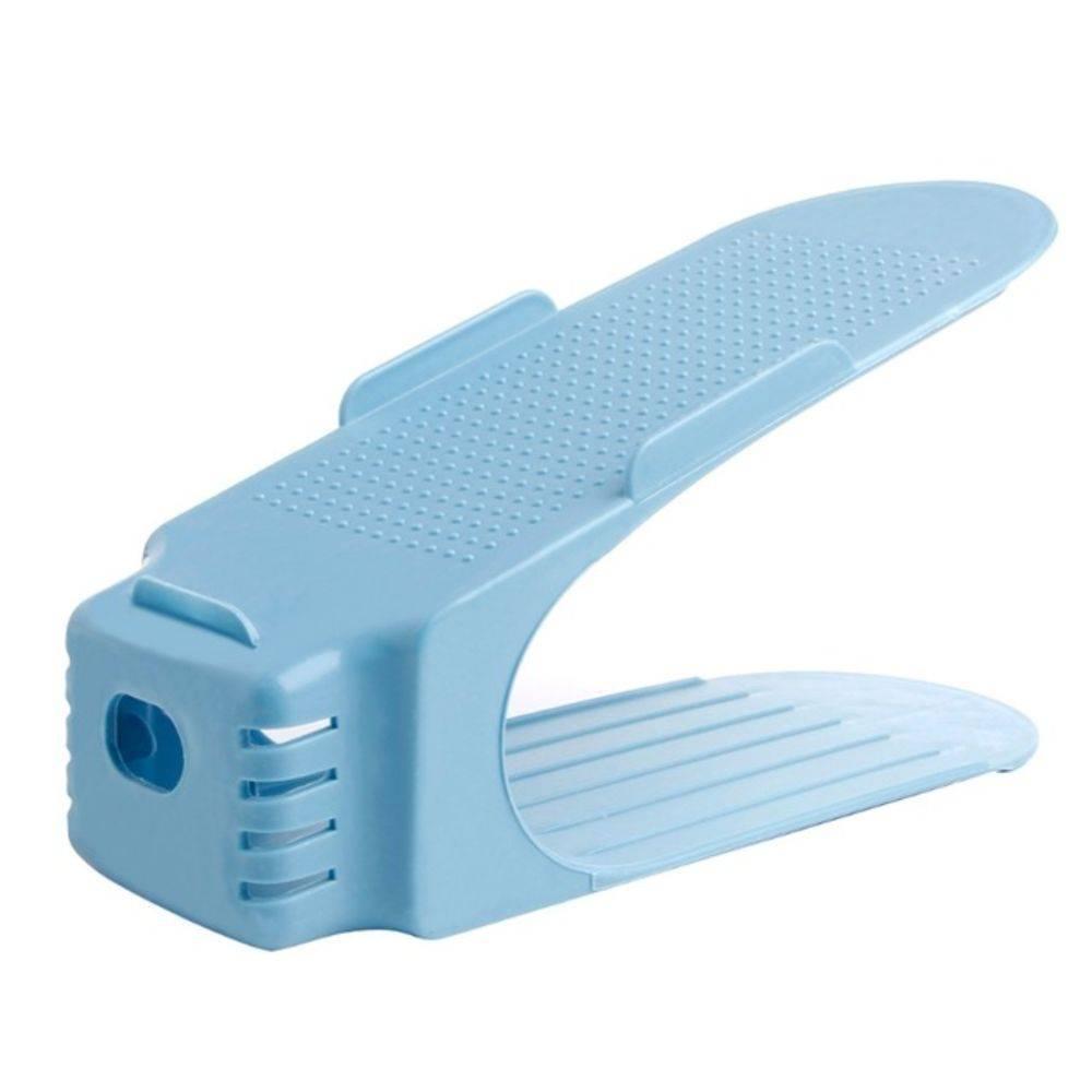 Organizador de Sapato Rack com 20 unidades Azul