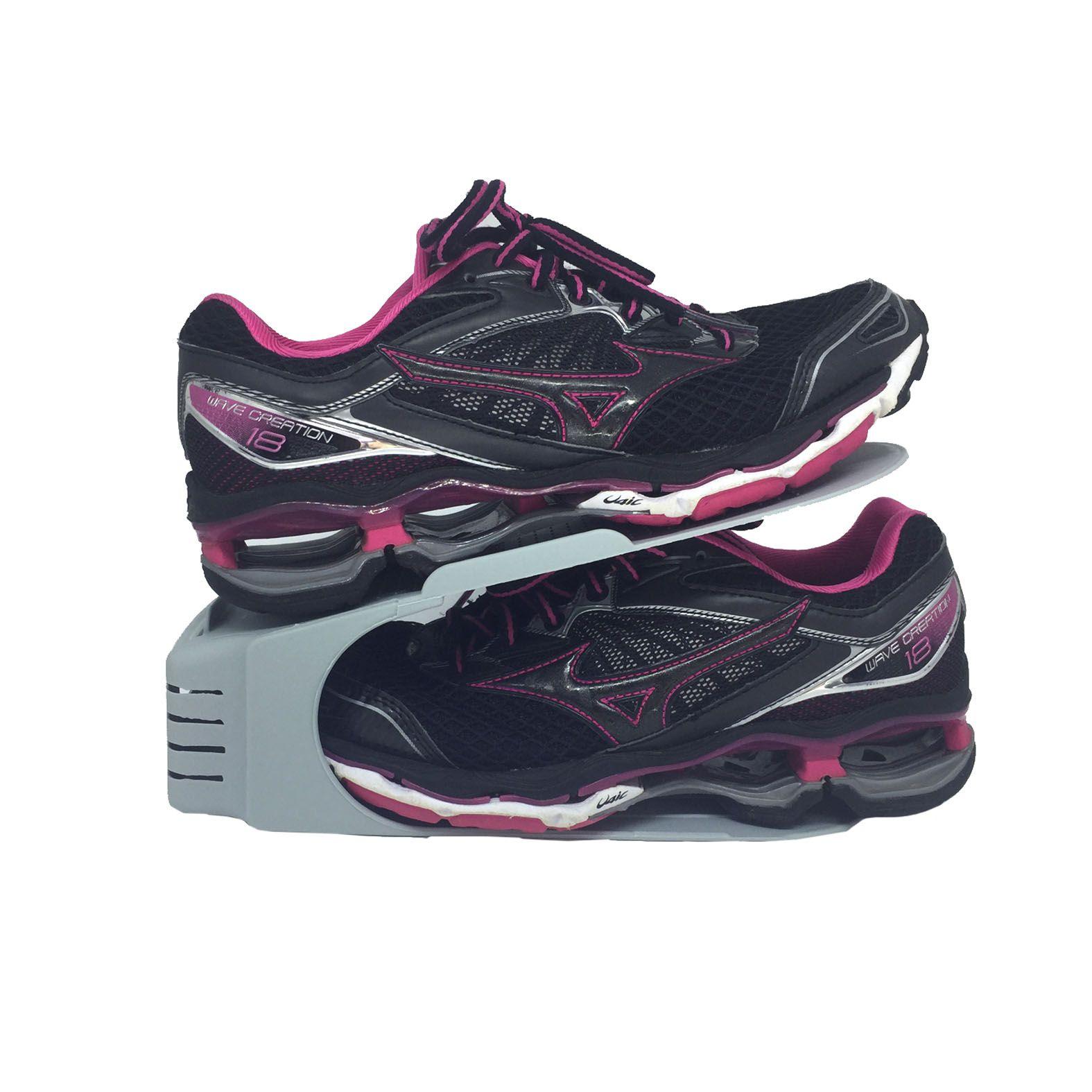 Organizador de Sapato Rack com 20 unidades Cinza  - Shop Ud