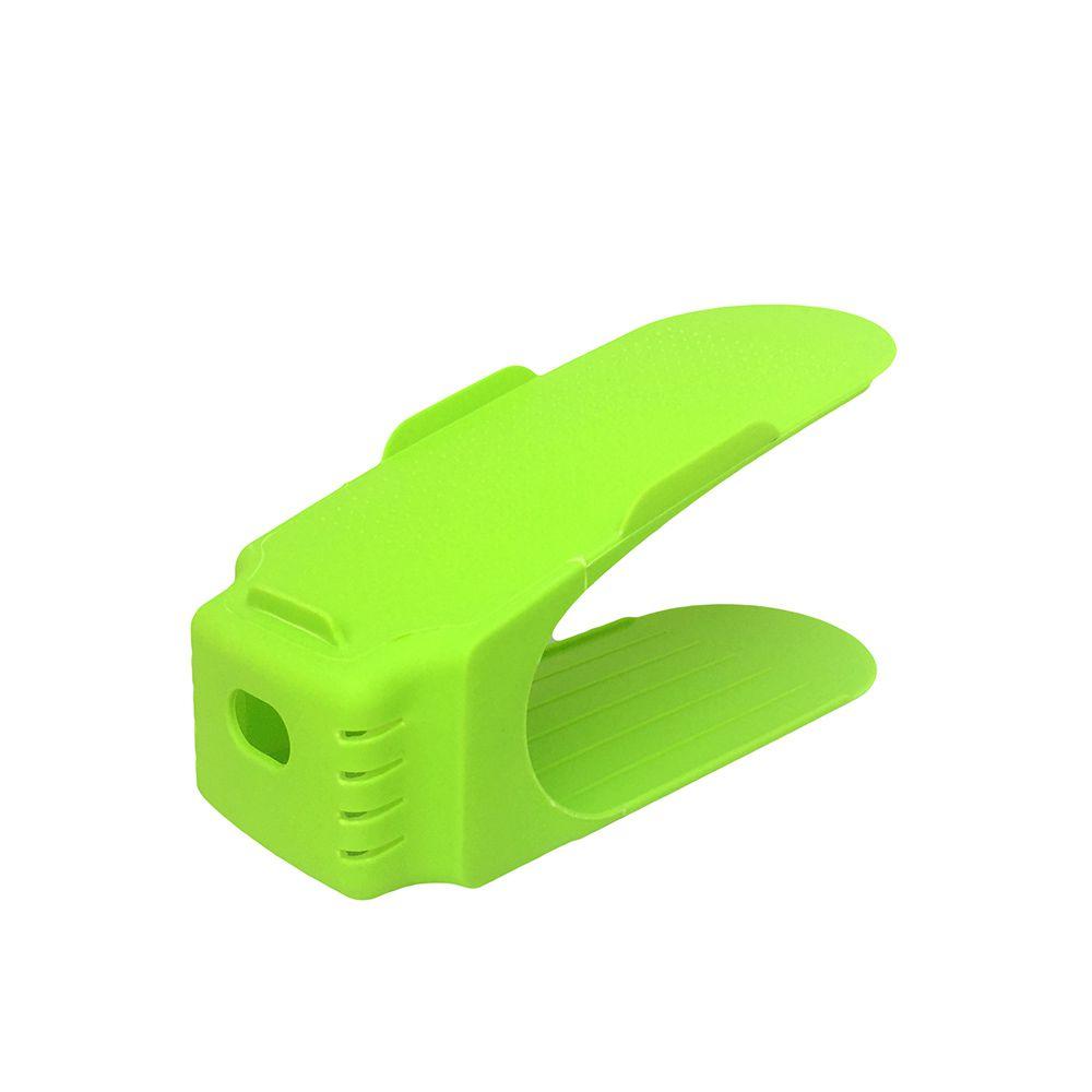 Organizador de Sapato Rack com 20 unidades Verde Limão