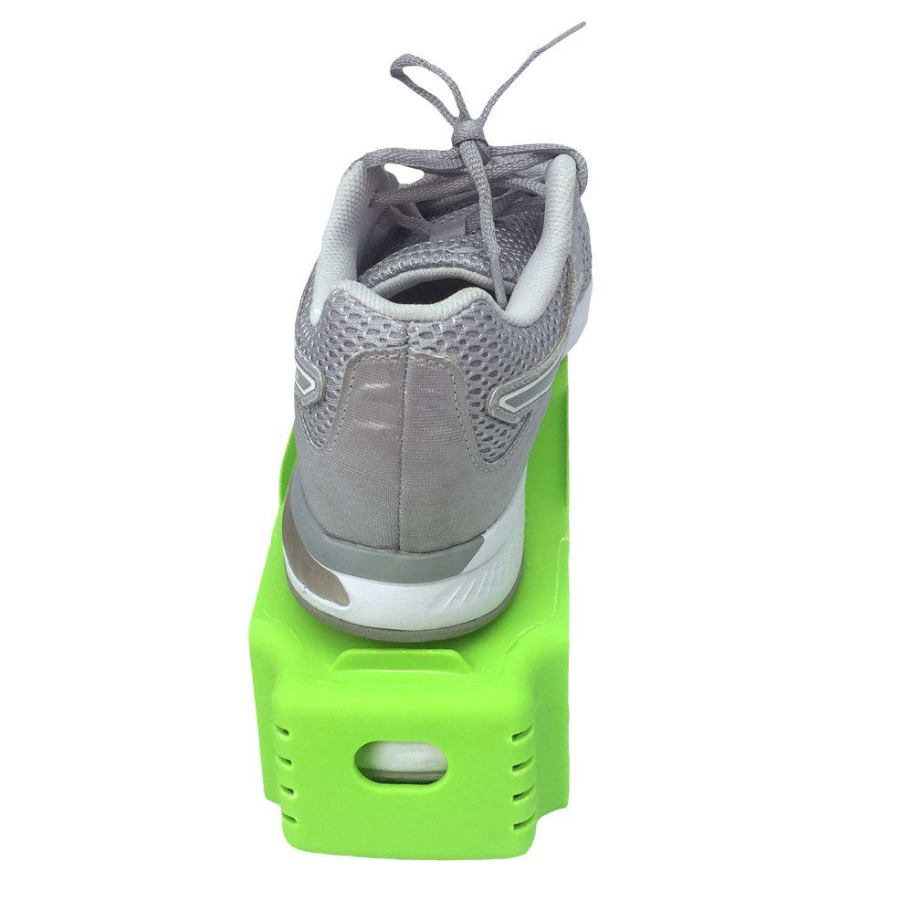 Organizador de Sapato Rack com 20 unidades Verde Limão  - Shop Ud