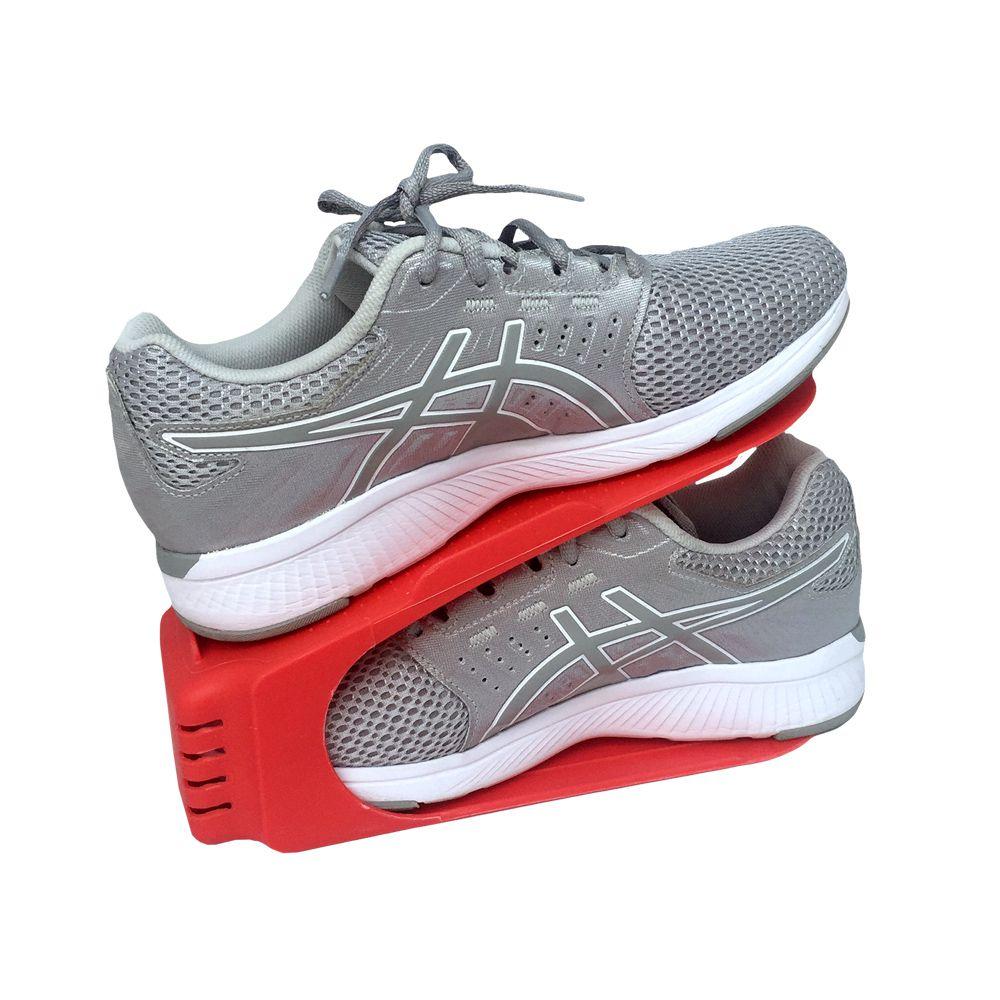 Organizador de Sapato Rack com 20 unidades Vermelho  - Shop Ud