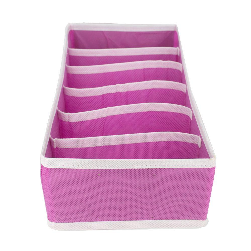 Organizador De Sutiã Com 6 Colmeias (P) - Pink  - Shop Ud