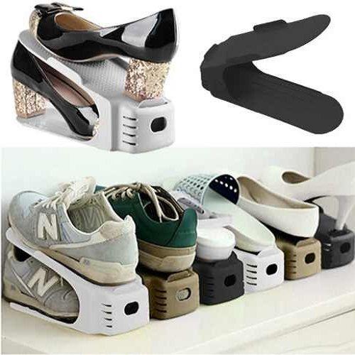Organizador Rack Sapato 20 unidades Branco  - Shop Ud