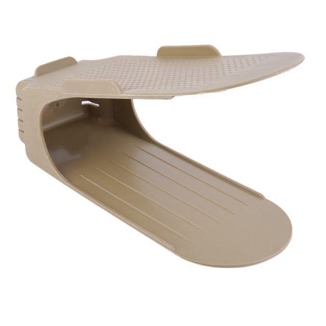 Organizador Rack Sapato 20 unidades Marrom  - Shop Ud