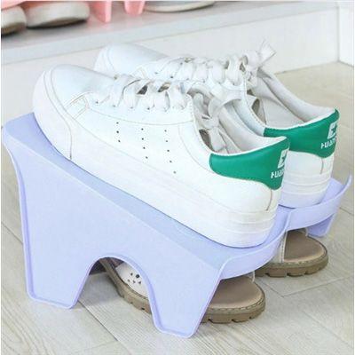 Organizador Rack duplo Sapato 2 pares Branco  - Shop Ud
