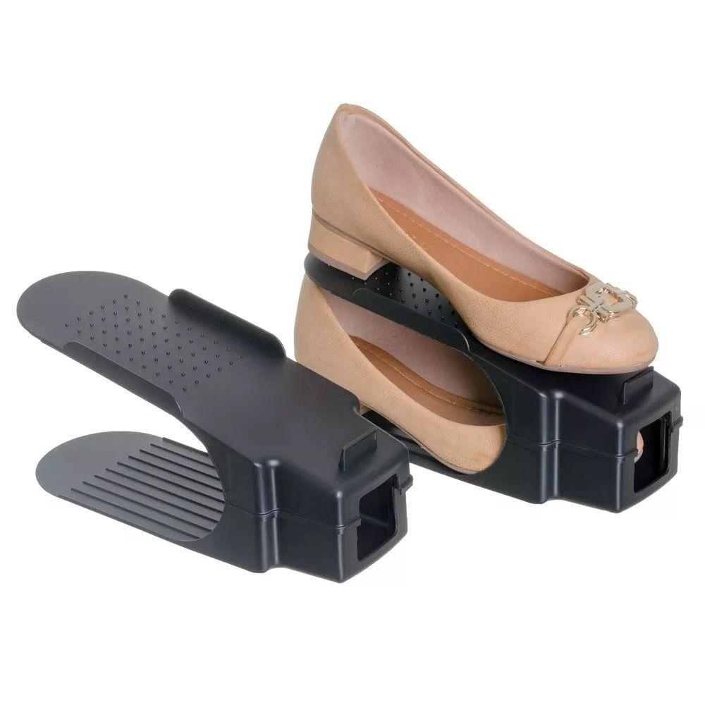 Organizador Rack Sapato Preto  - Shop Ud