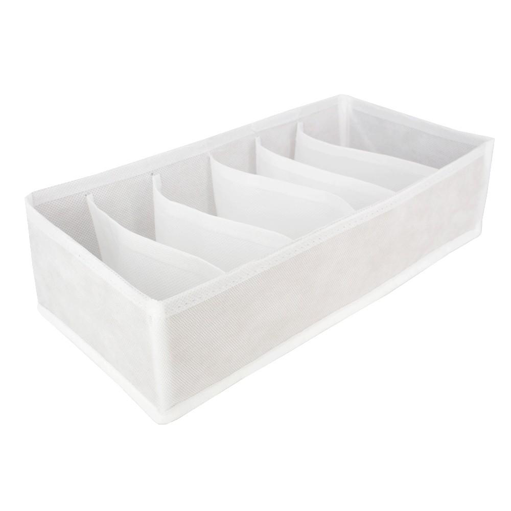 Organizador Sutiã Bojo 6 colméias (P) - TNT Branco  - Shop Ud