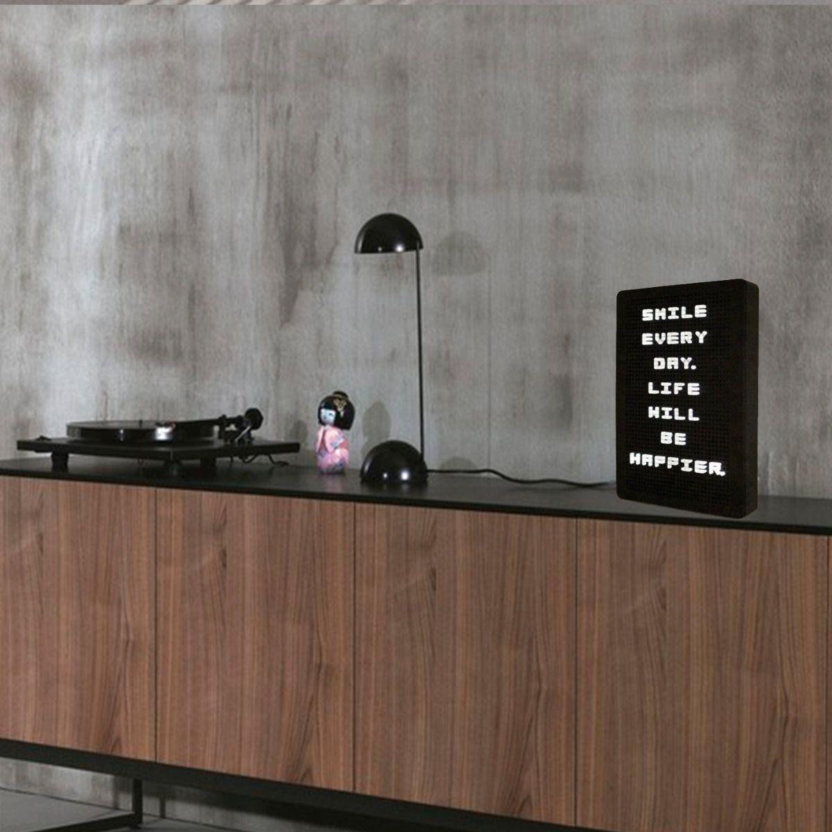 Painel Recado Letreiro Luminoso Ligth Box  - Shop Ud