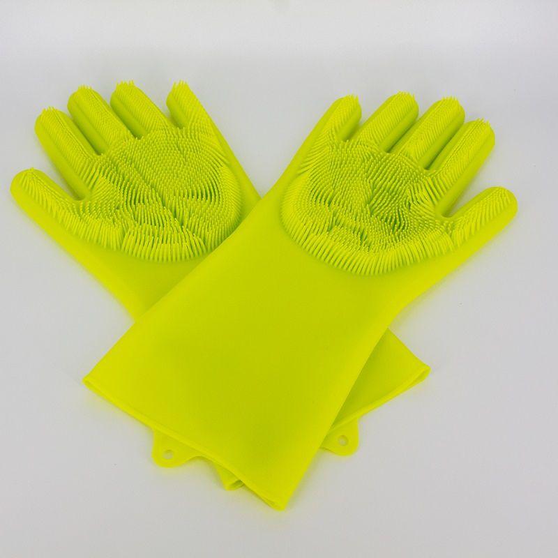 Par de Luvas Esponja Lava Louça Verde  - Shop Ud