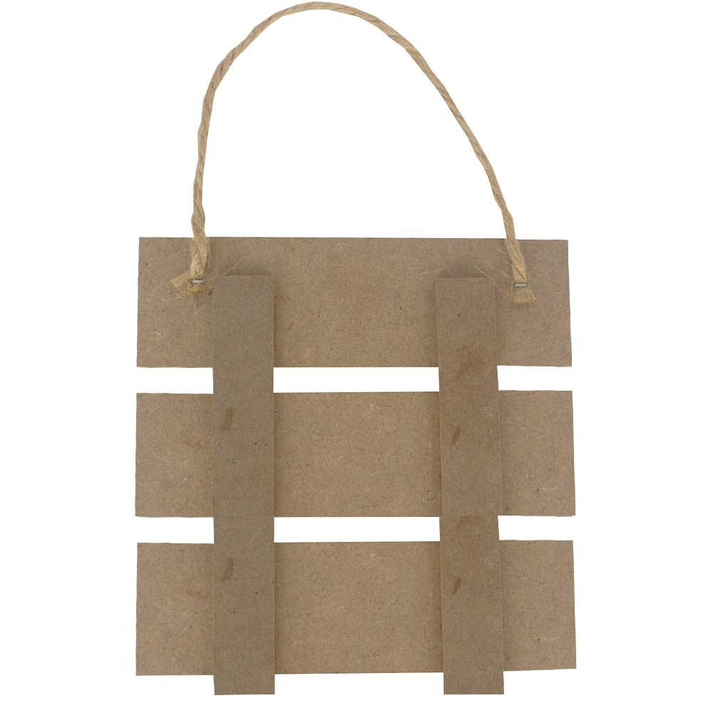 Placa Decorativa com 2 Ganchos para Chaves - Lar Doce Lar  - Shop Ud