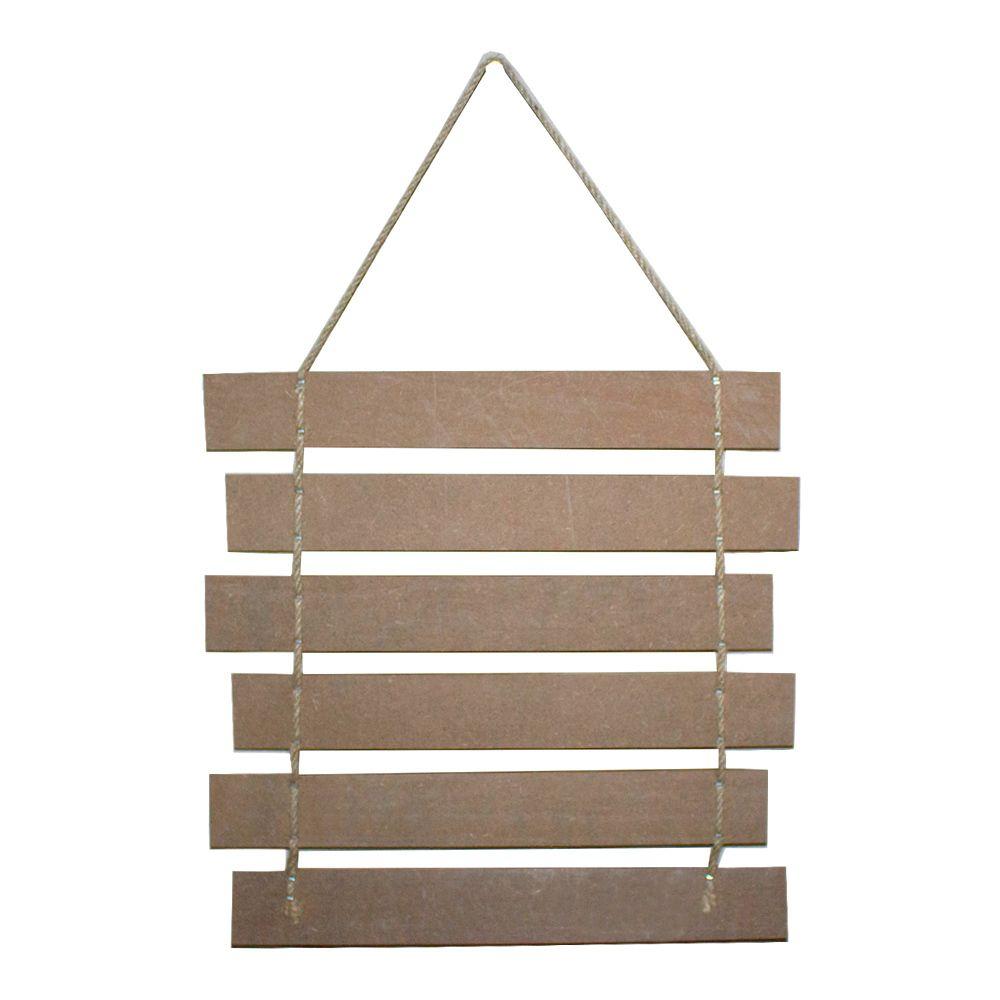 Placa Decorativa Madeira - Coisas pequenas se tornam grandes  - Shop Ud