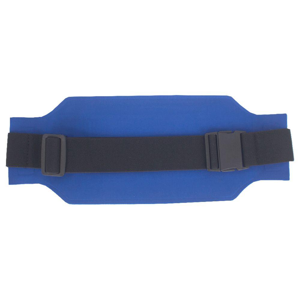 Pochete Esportiva Ajustável e Discreta - Cinza e Azul Royal  - Shop Ud