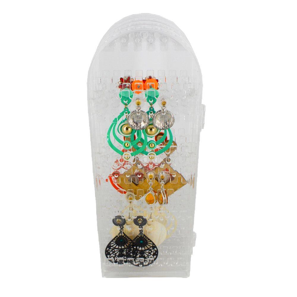 Porta Bijuteria Compacto em Acrilico Dobrável  - Shop Ud