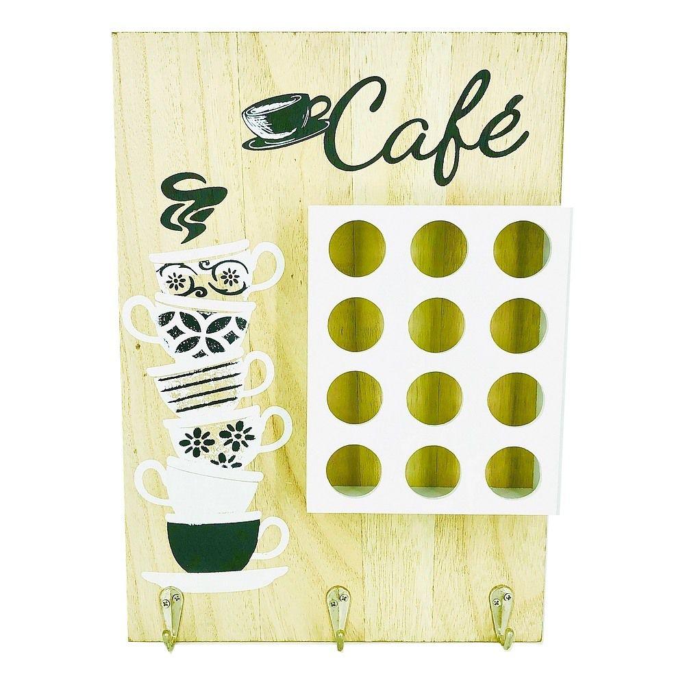 Porta Cápsulas de Café com 12 compartimentos - Marfim  - Shop Ud