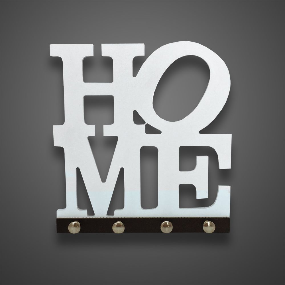 Porta Chaves Home Branco  - Shop Ud