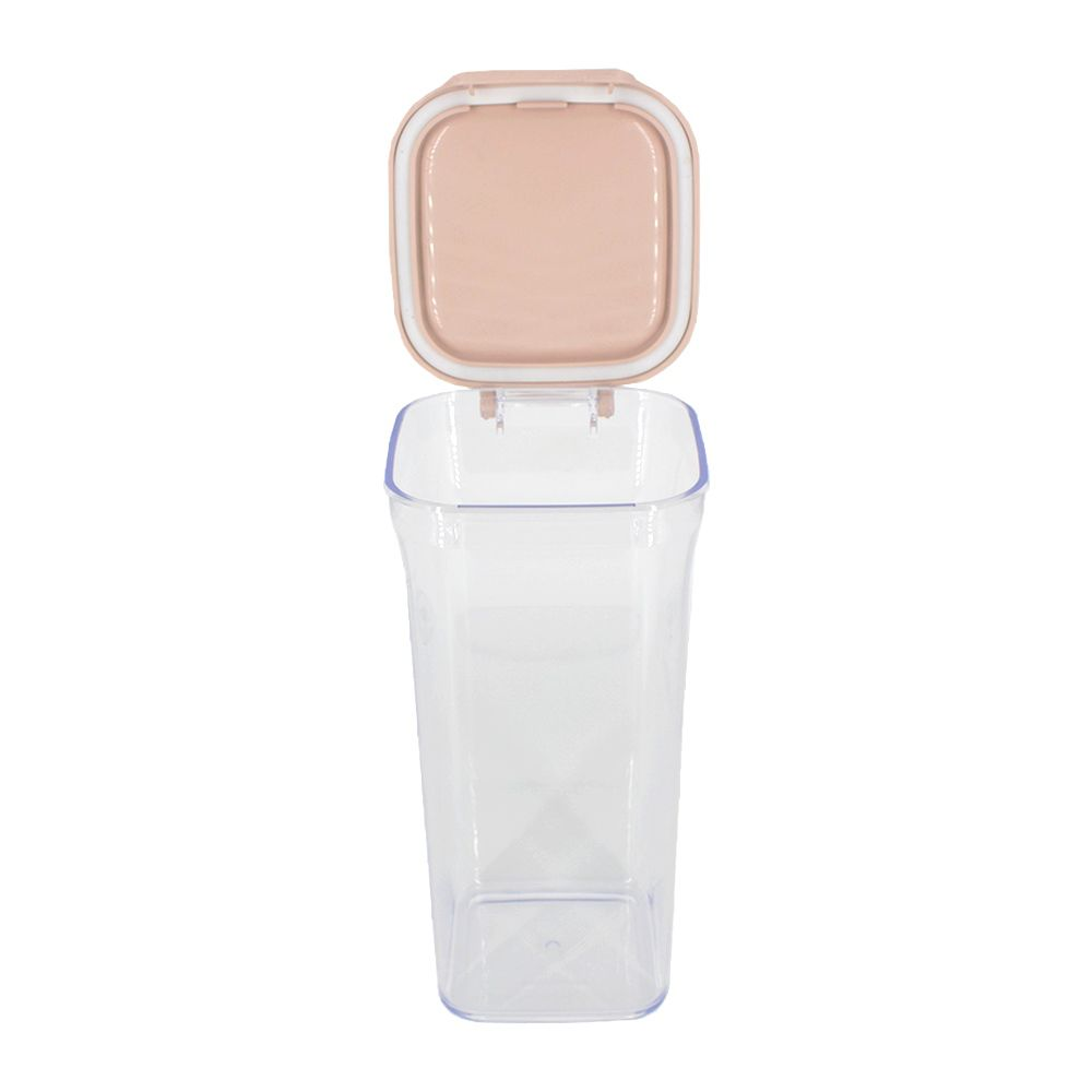 Pote Hermético com Tampa Conservar Alimentos - Rosa Nude 1500ml  - Shop Ud