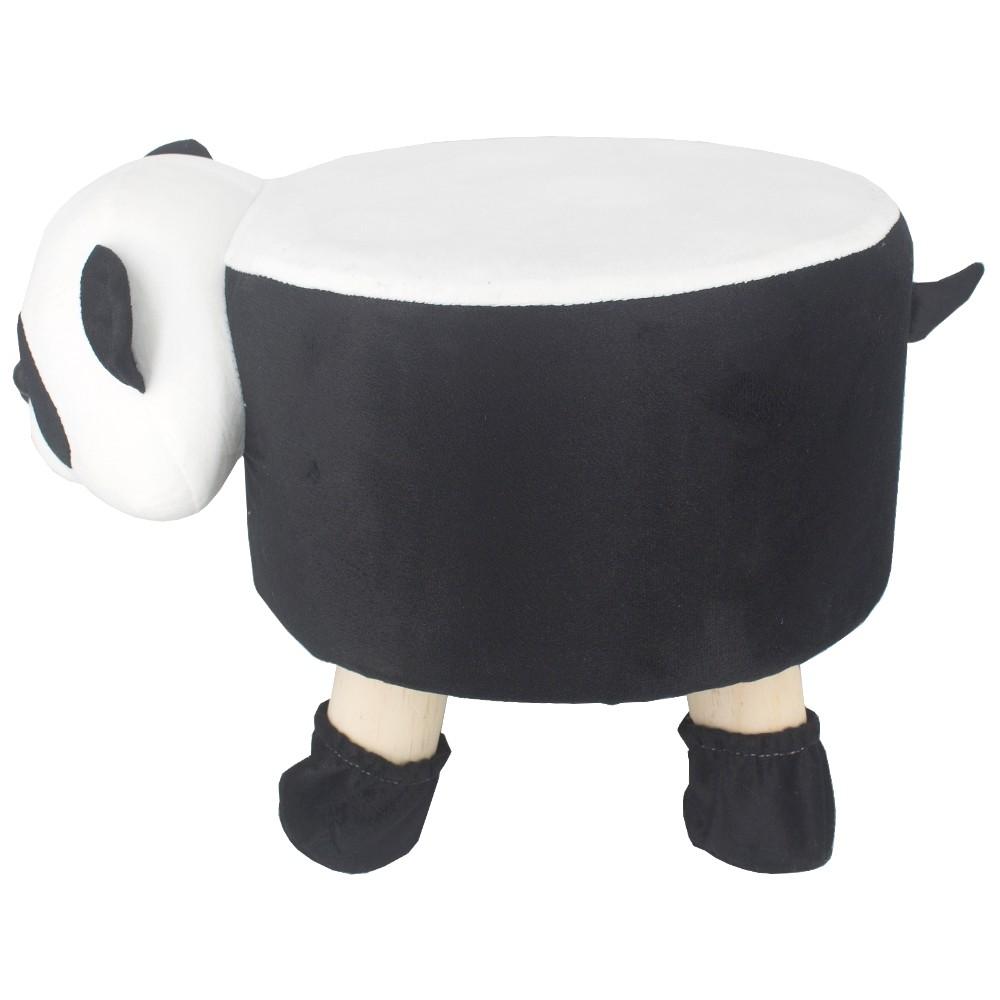 Puff Redondo Banquinho Banqueta Infantil -  Uso Panda  - Shop Ud