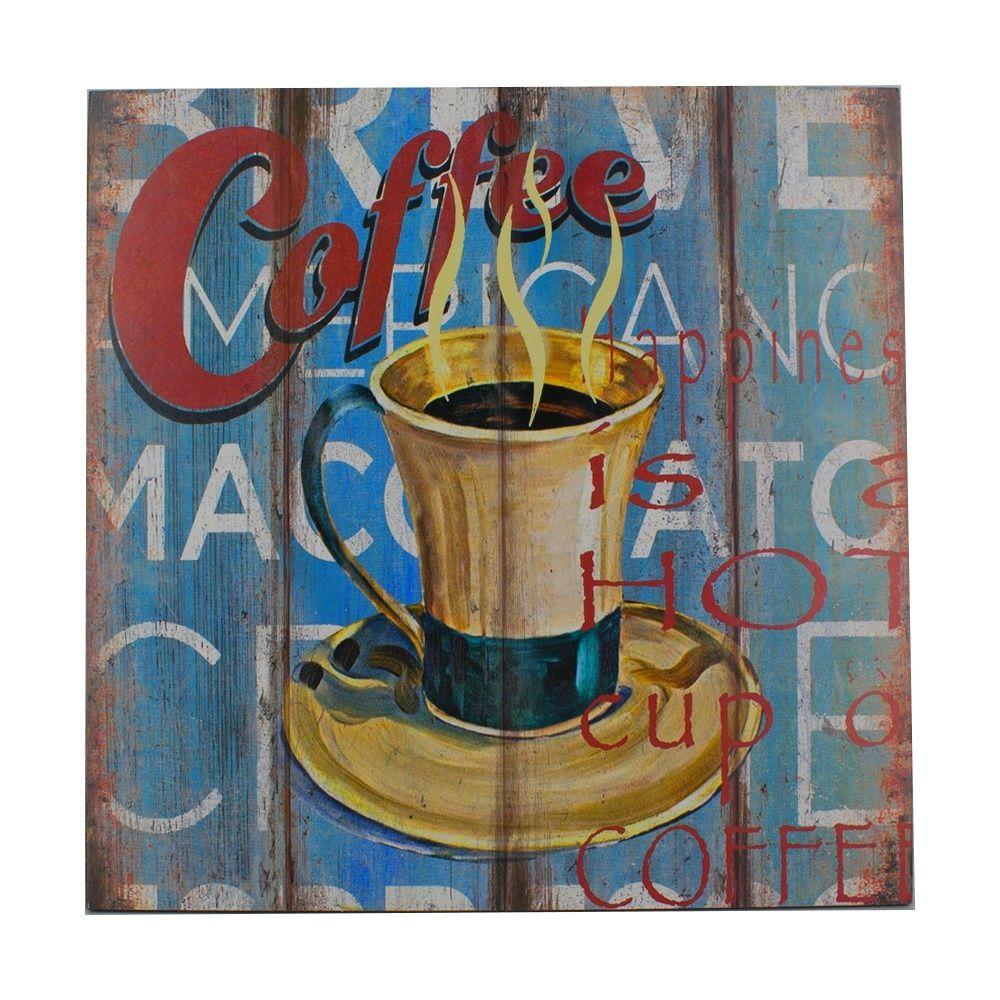 Quadro Decorativo – Coffee MDF