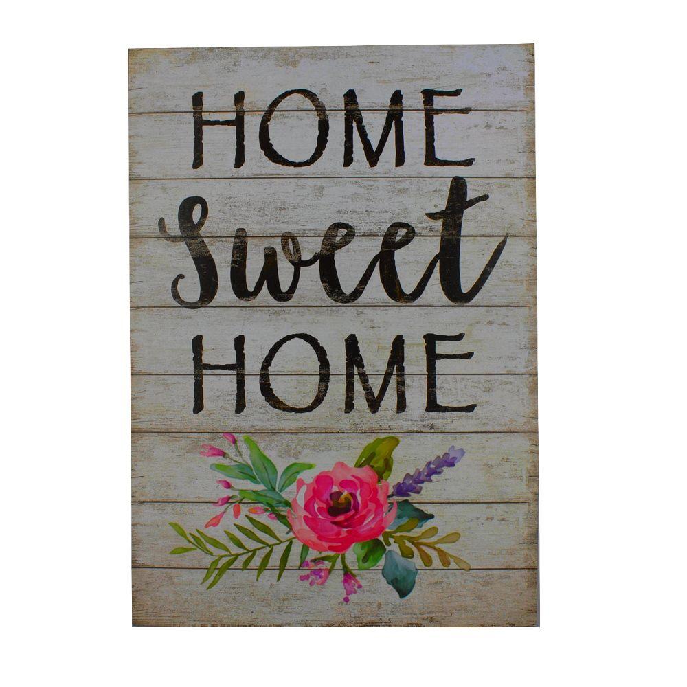Quadro Decorativo – Home Sweet Home MDF