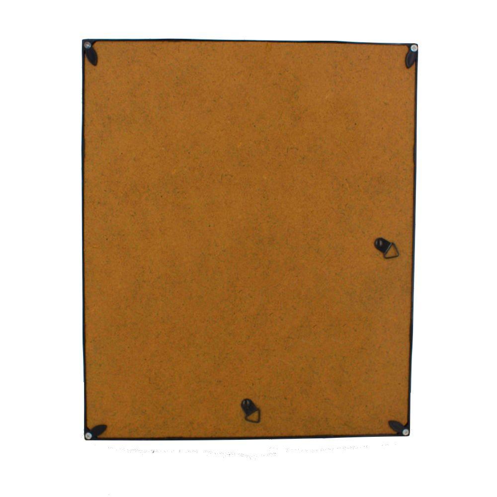 Quadro Decorativo – Moldura Preta (Folhagem) - 30x25  - Shop Ud
