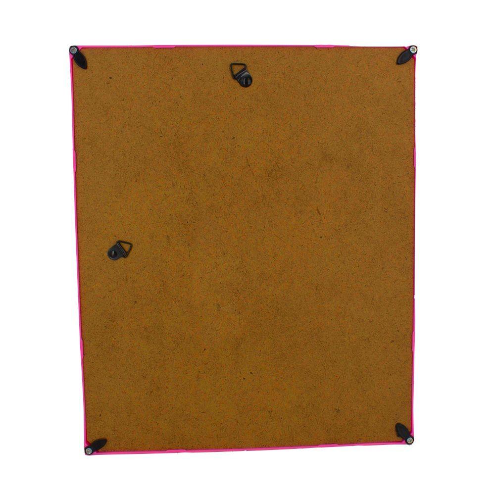 Quadro Decorativo – Moldura Rosa (Sonhos) - 30x25  - Shop Ud