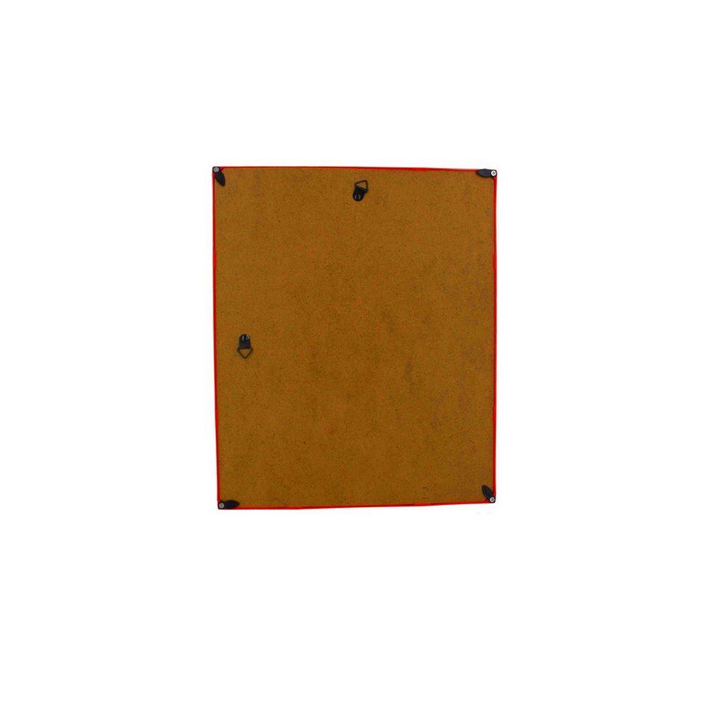 Quadro Decorativo – Moldura Vermelha (Só o bem entra) - 25x25cm  - Shop Ud