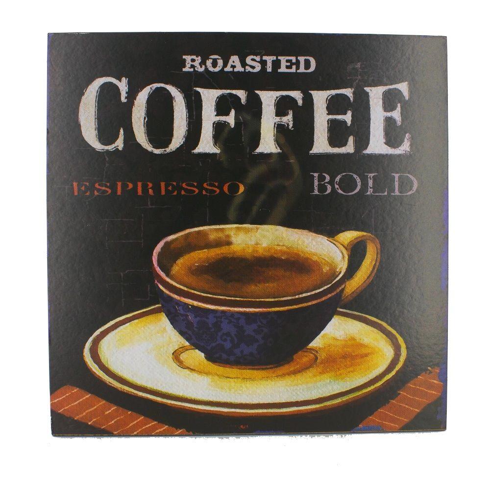 Quadro Decorativo – Roasted Coffee MDF