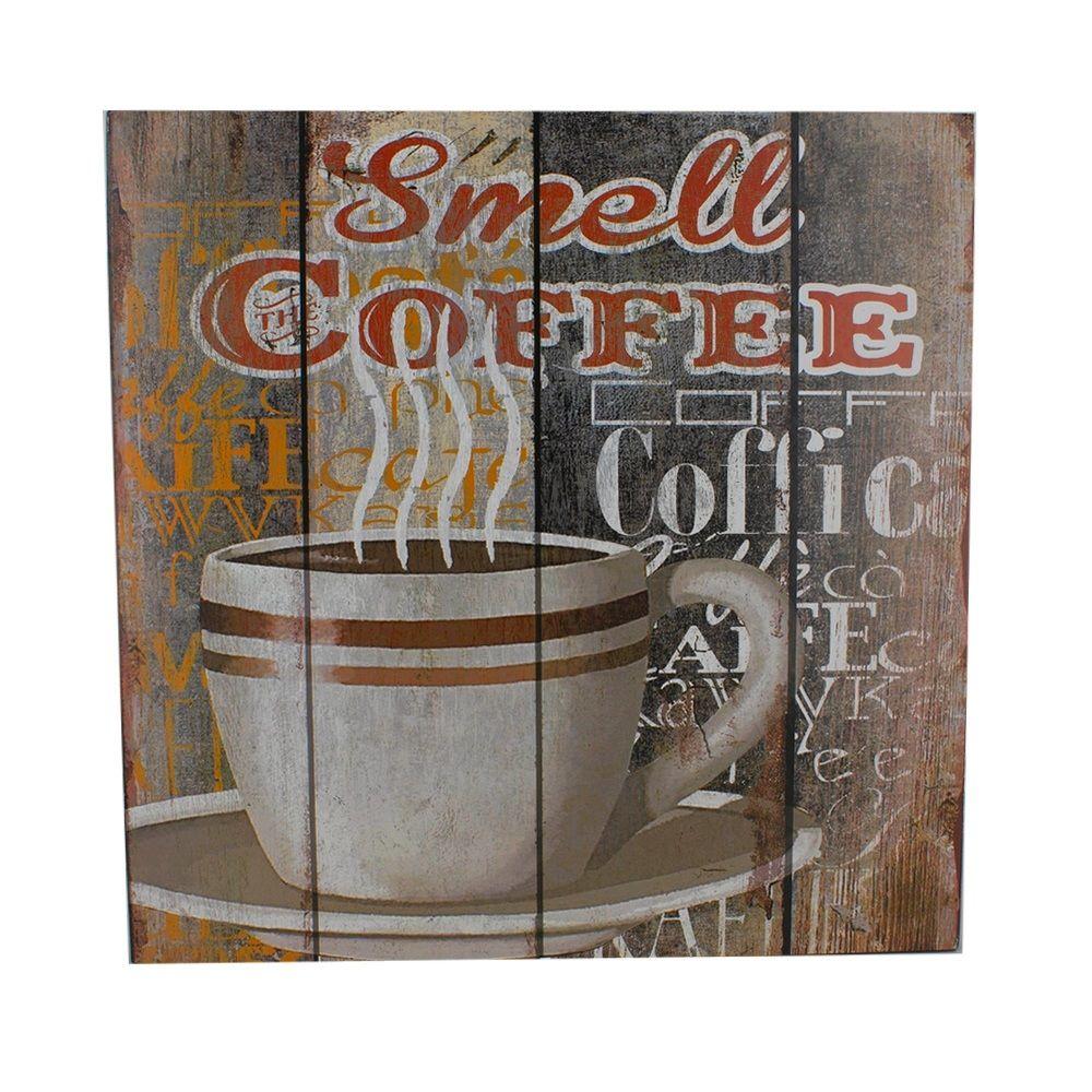 Quadro Decorativo – Smell Coffee MDF  - Shop Ud