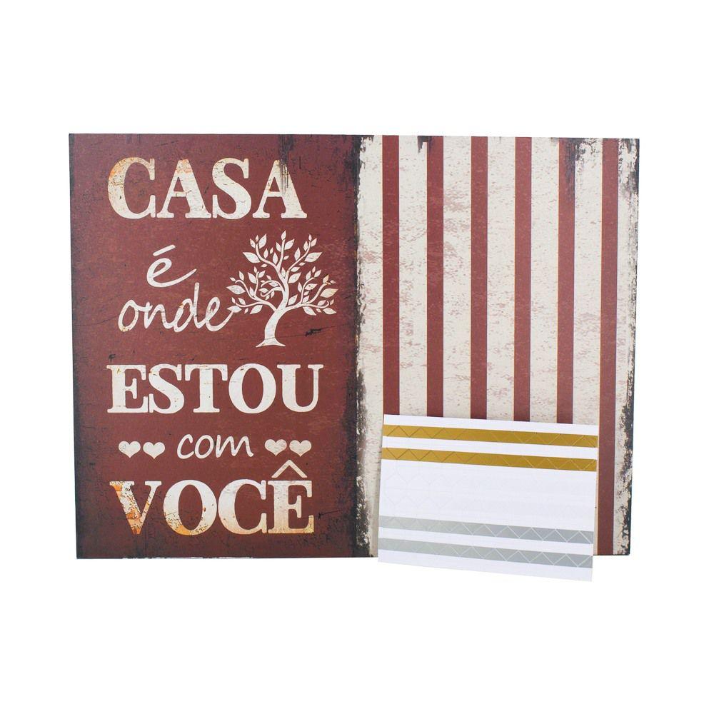 Quadro e Mural de Foto com adesivo colante - Casa é onde estou com você  - Shop Ud