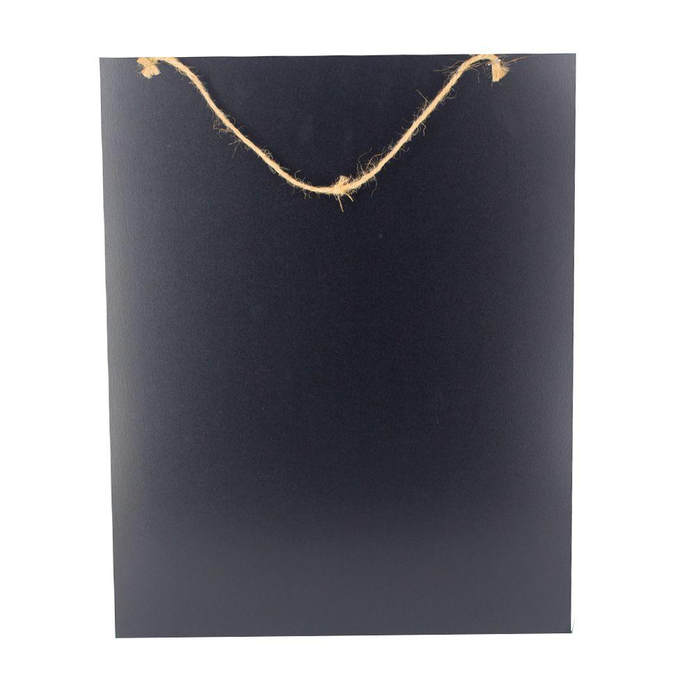Quadro para Parede de Pendurar - Coração Preto - 50cm x 40cm  - Shop Ud