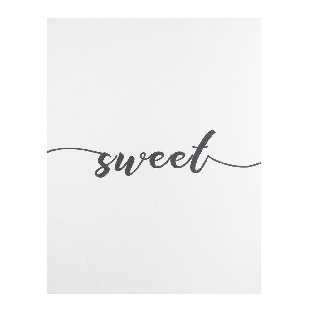 Quadro para Parede de Pendurar - Sweet - 50cm x 40cm