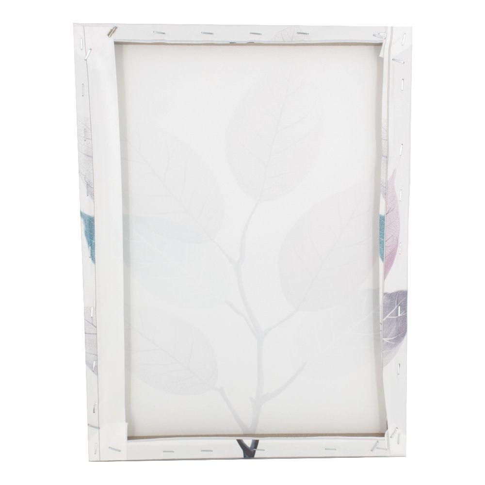 Quadro para Parede - Galho de Folhas Coloridas 40x30cm  - Shop Ud