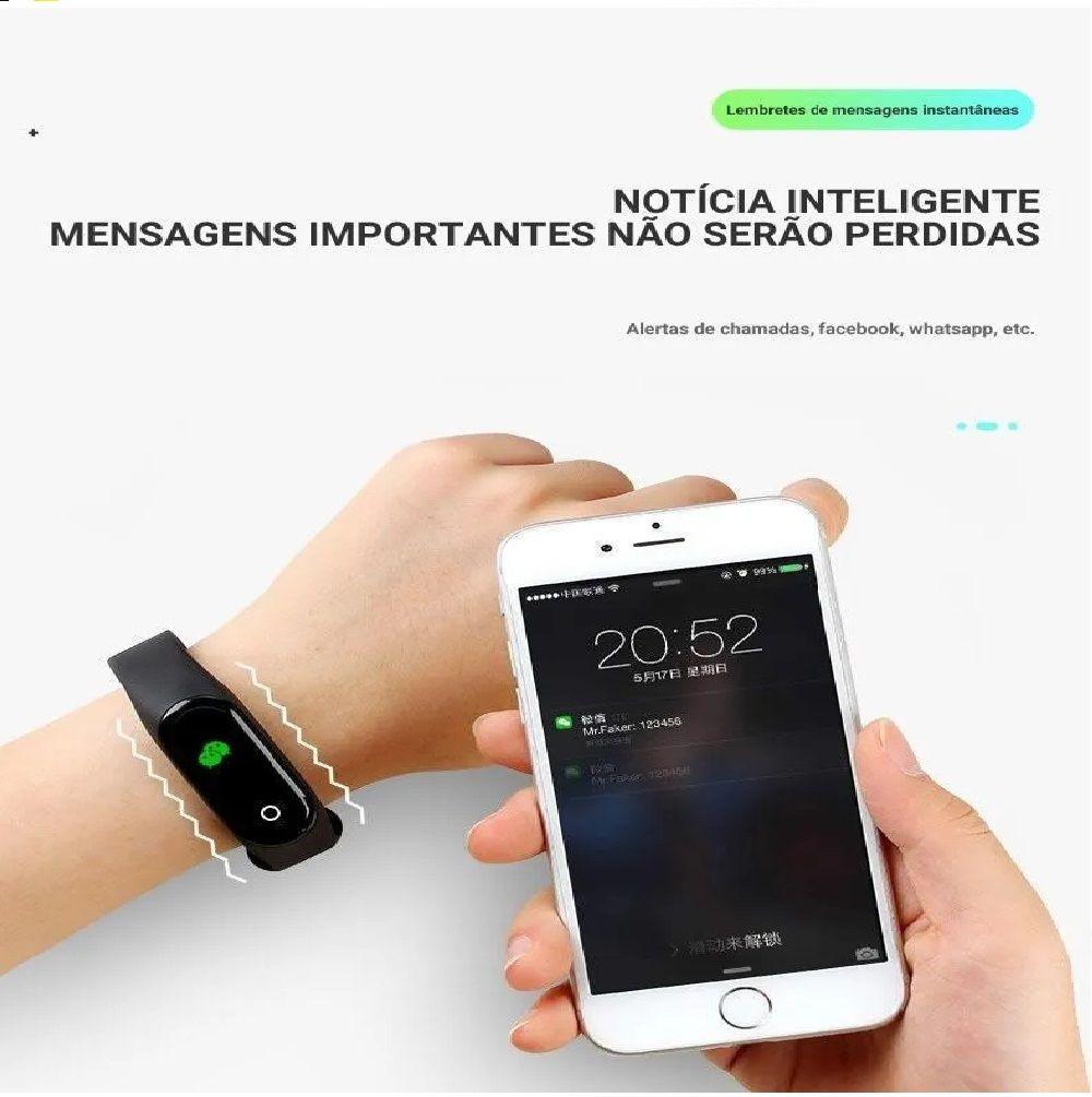 Relógio Smartwatch Inteligente Batimento Cardíaco  - Shop Ud