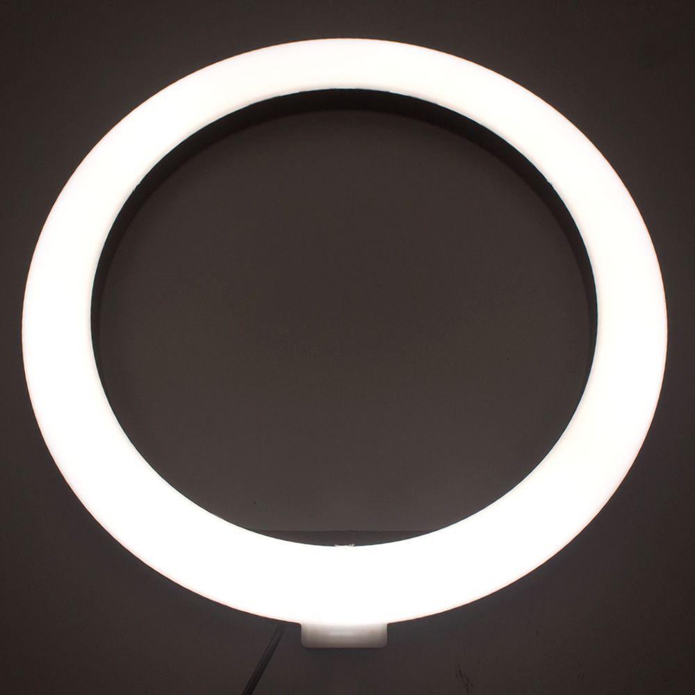 Ring Light Led Selfie Iluminadora para Make Foto Luz 26cm  - Shop Ud