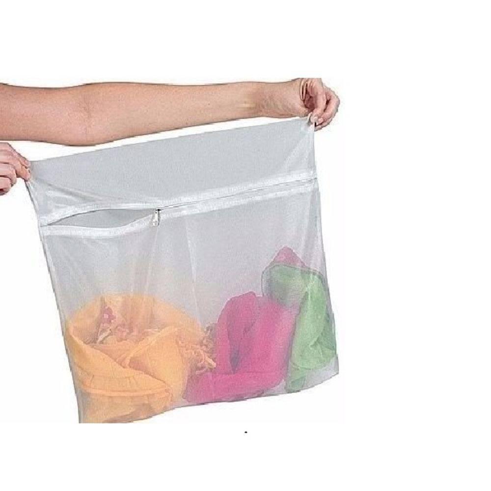 Saco para Lavar Roupas Delicadas 40x50cm