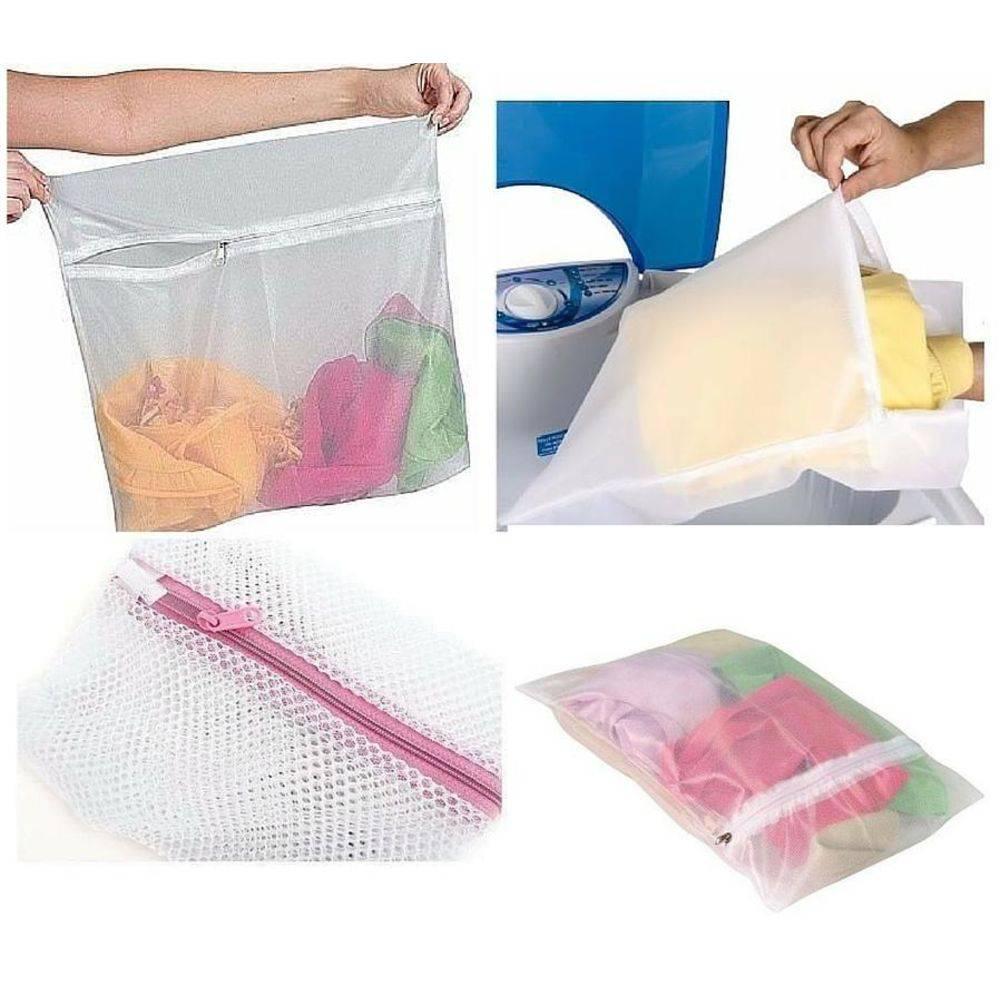 Saco para Lavar Roupas Delicadas 50x70cm  - Shop Ud