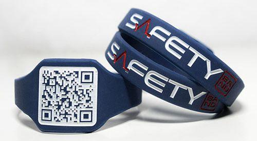 Safety Band - Pulseira de Identificação P