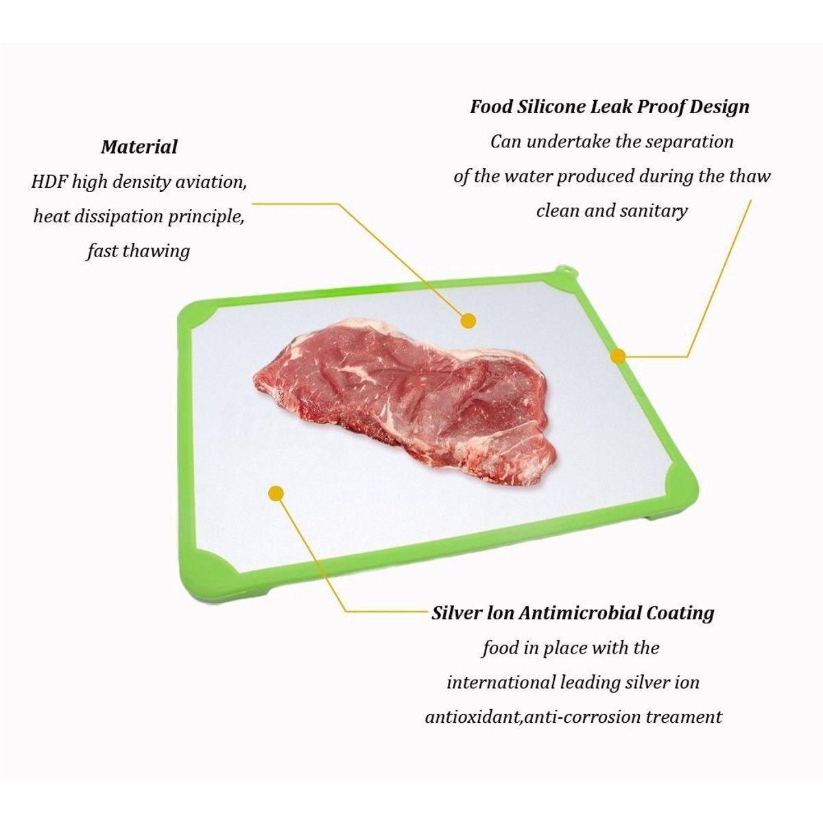 Tabua Defrosting Descongelamento Rápido De Alimentos Carne  - Shop Ud