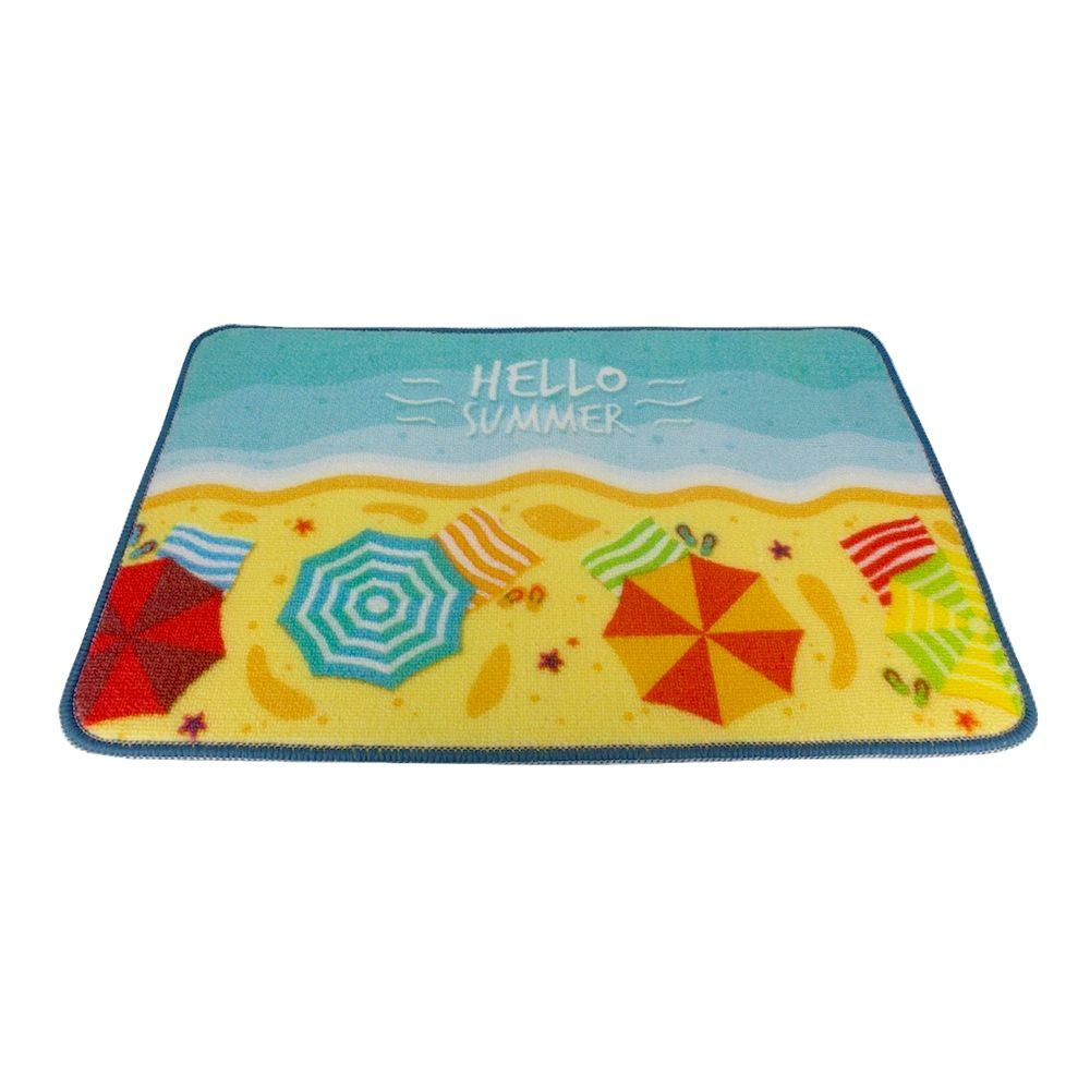 Tapete Decorativo - Guarda-Sol Coloridos (Hello Summer)
