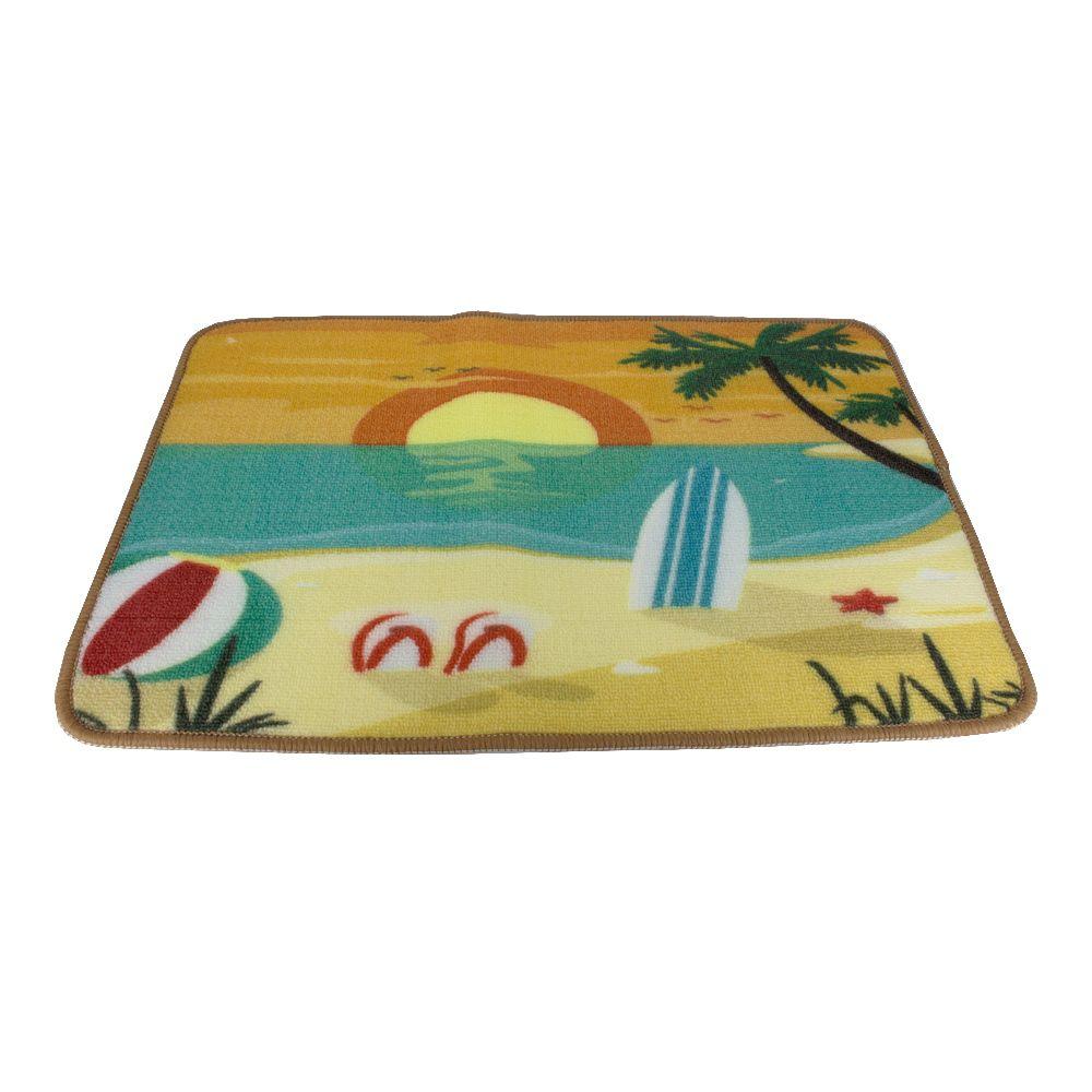 Tapete Decorativo - Por do Sol Praia  - Shop Ud