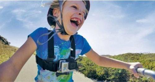 Cinturão Peitoral Infantil Para Filmagem Em GoPro - ACHMJ-301