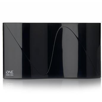Antena Digital One For All Interna (de parede) Amplificada 42 dB VHF E UHF - SV9324